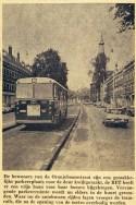 19720822 Vrije busbaan Oranjeboomstraat. (NRC)