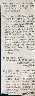 19720921 Nut sneldienst.