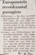 19720930 Record passagiers Europoort.