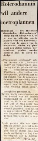 19721019 Roterodarum wil andere plannen.