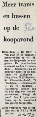 19730310 Meer trams en bussen.