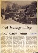 19730502 Belangstelling oude trams.
