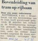 19730504 Bovenleiding op rijbaan. (NRC)