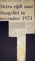 19730519 Metro Hoogvliet rijdt september.