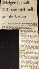 19730604 Reiziger betaald niet de helft.