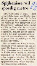 19730914 Spijkenisse wil metro. (NRC)