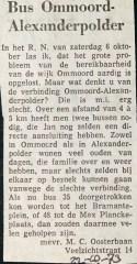 19731022 Bus Ommoord - Alexanderpolder.