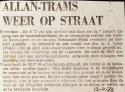 19731213 Allantram op straat.