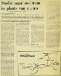 19750124 Studie sneltram. (NRC)