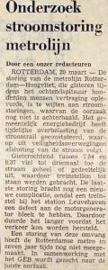 19750320 Onderzoek storing. (NRC)