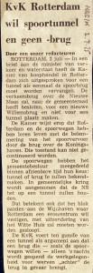 19750702 KvK wil spoortunnel. (NRC)