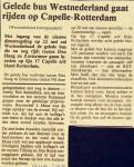 19770111 Gelede bus naar Capelle. (NRC)