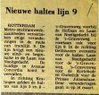 19770312 Nieuwe halte lijn 9. (HVV)