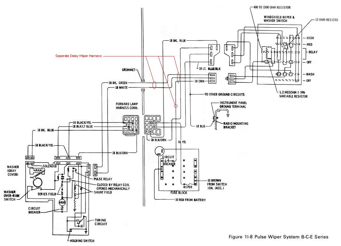 Delay Wiper Switch Wiring Diagram