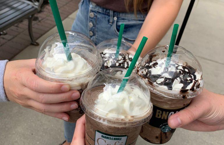 Starbucks and Scavenger Hunt Night!