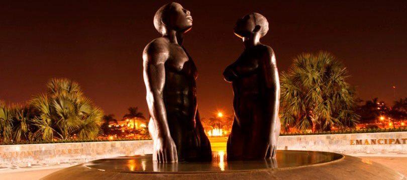 Emancipation Park at Night