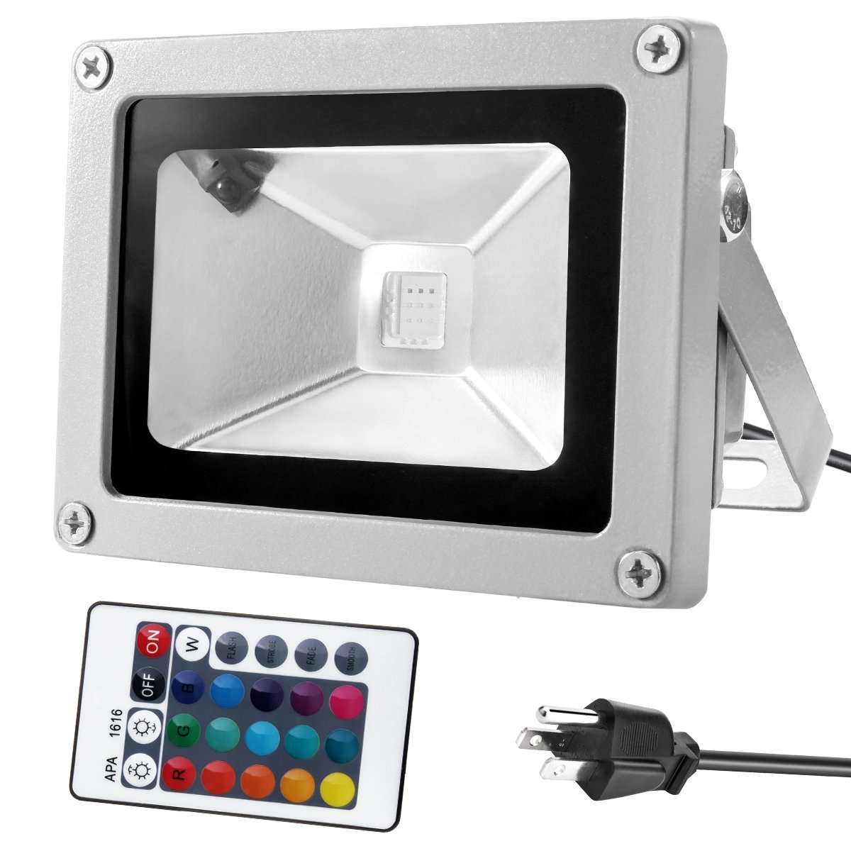 outdoor led flood light rgb color changing rowe lighting