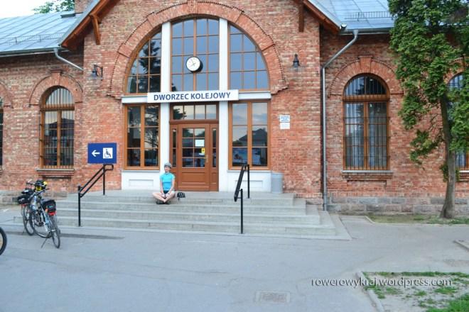 Dworzec kolejowy w Sochaczewie
