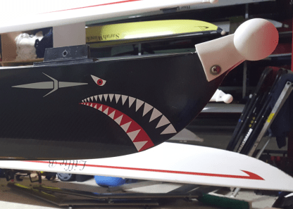 Shark Mouth Bow Sticker
