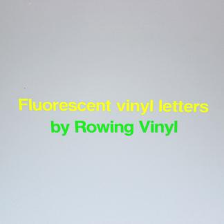 fluorescent vinyl letters