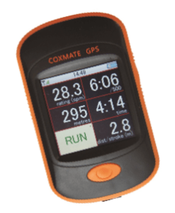 Coxmate GPS for coxless boat speed measurement