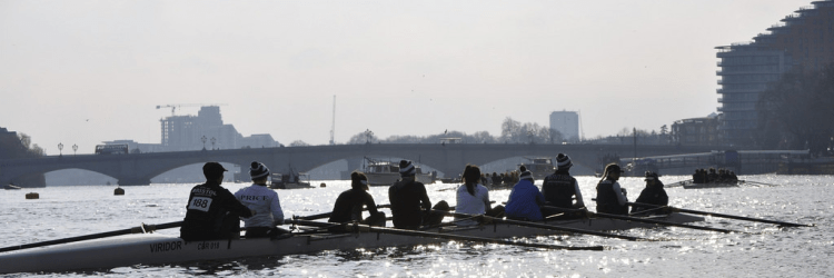Womens Eights Head of the River Race, London UK