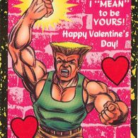 Guile - Street Fighter 2 Valentine's Day Cards
