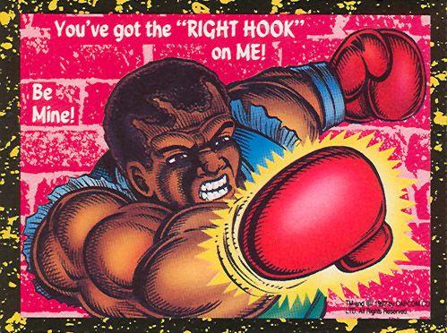 Balrog - Street Fighter 2 Valentine's Day Cards