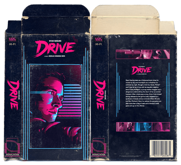 drive vhs box art