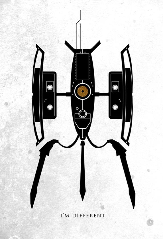 Portal Poster by Ron Guyatt