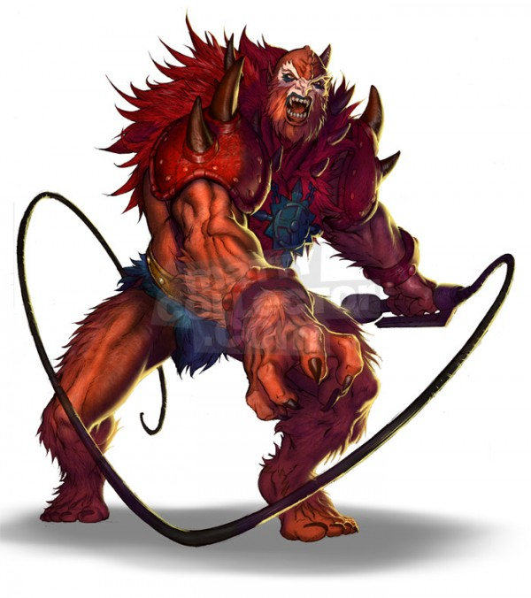 Beast-Man Attack Pose
