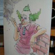Krusty the Clown by Joe Bowen