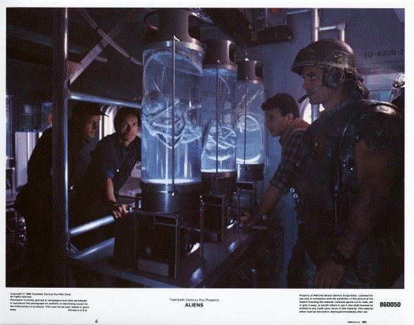 Aliens Lobby Cards - Gorman Bishop Burke and Hicks