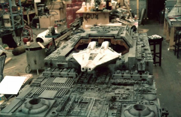 Alien - Narcissus in dock modelshop