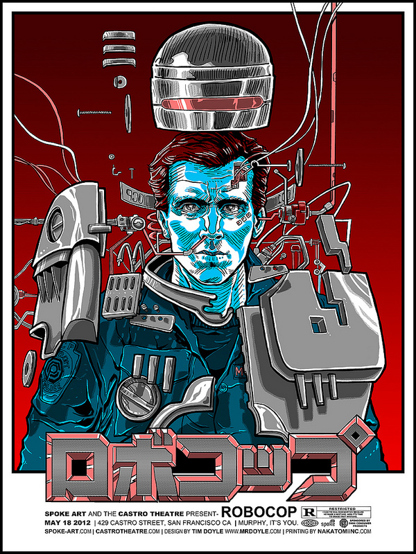 RoboCop poster by Tim Doyle
