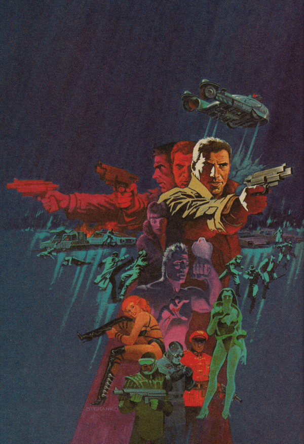 Marvel Super Special: Blade Runner - Comic Book Cover Art by Jim Steranko