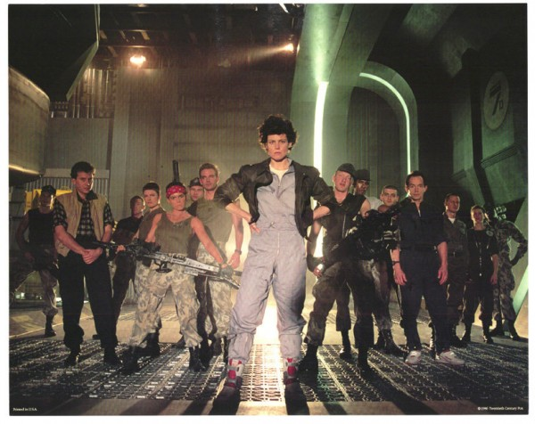 Aliens - Cast Group Photo