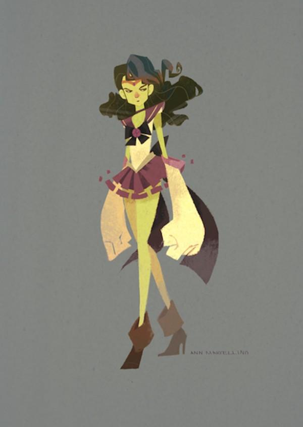 Sailor Hulk by Ann Marcellino