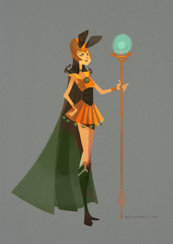Sailor Loki by Ann Marcellino