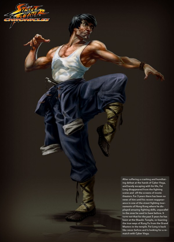 Fei Long by Toratsuji - Street Fighter Art