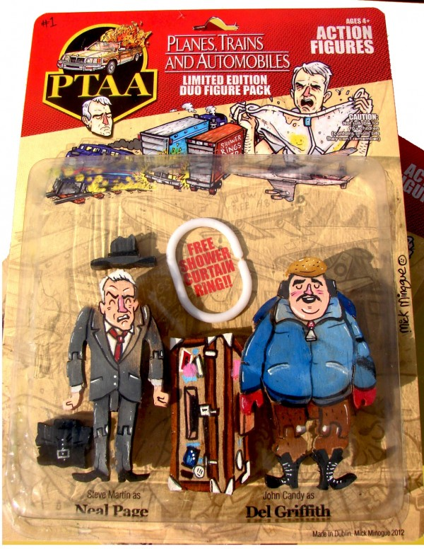 Planes, Trains and Automobiles x M.A.S.K. Action Figures