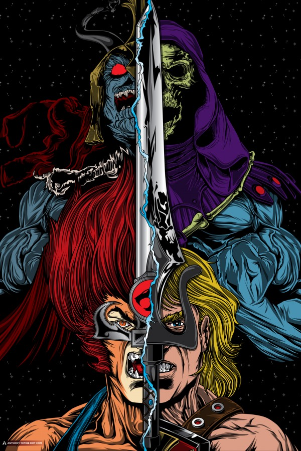 Thundercats x Masters of the Universe Mashup