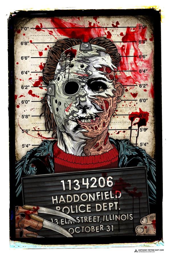 Portrait of a Killer - Freddy Krueger x Michael Myers x Jason Voorhees