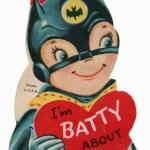 Vintage Batman Valentine