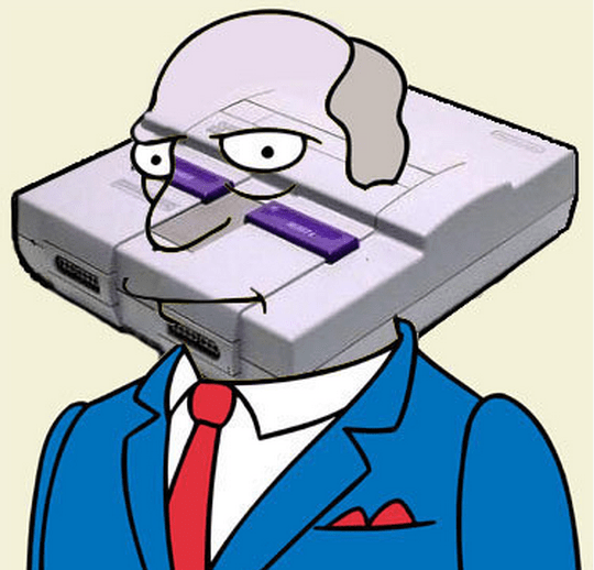 Supernintendo Chalmers - The Simpsons