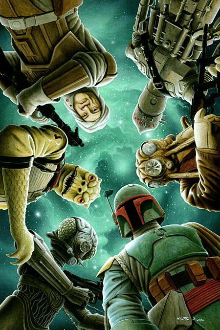 Star Wars Bounty Hunters by Byron Winton