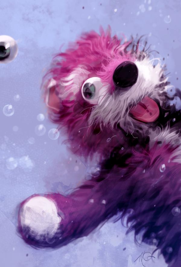 Breaking Bad Fan Art by Massimo Carnevale - Pink Bear