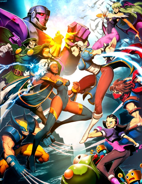 Marvel vs Capcom by *GENZOMAN