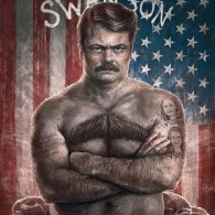 Parks and Recreation: United States of Swanson by Sam Spratt - Ron Swanson Fan Art