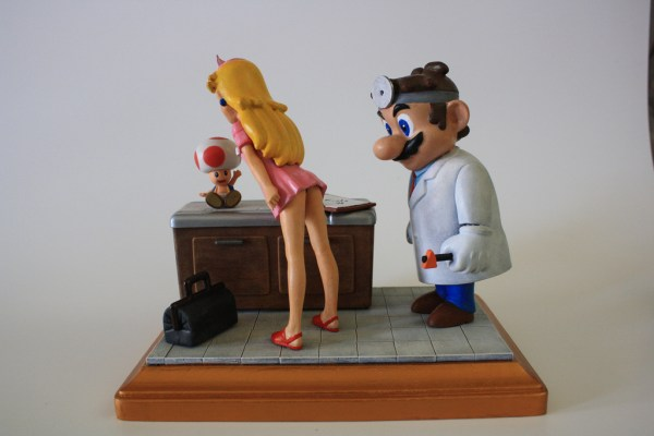 Kodykoala's Custom Dr. Mario and Peach - nintendo, gaming, video games